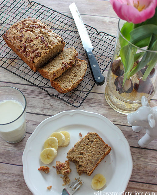 banana bread afternoon