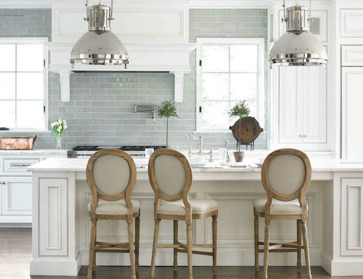 light gray subway tile
