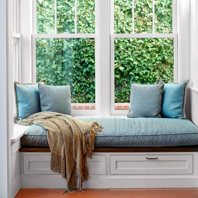 window seat from this old house