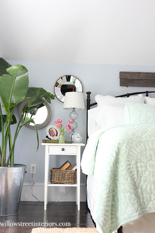 second bedside table