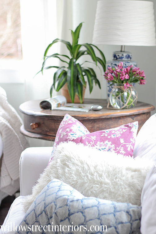 Simple Spring Living Room Changes