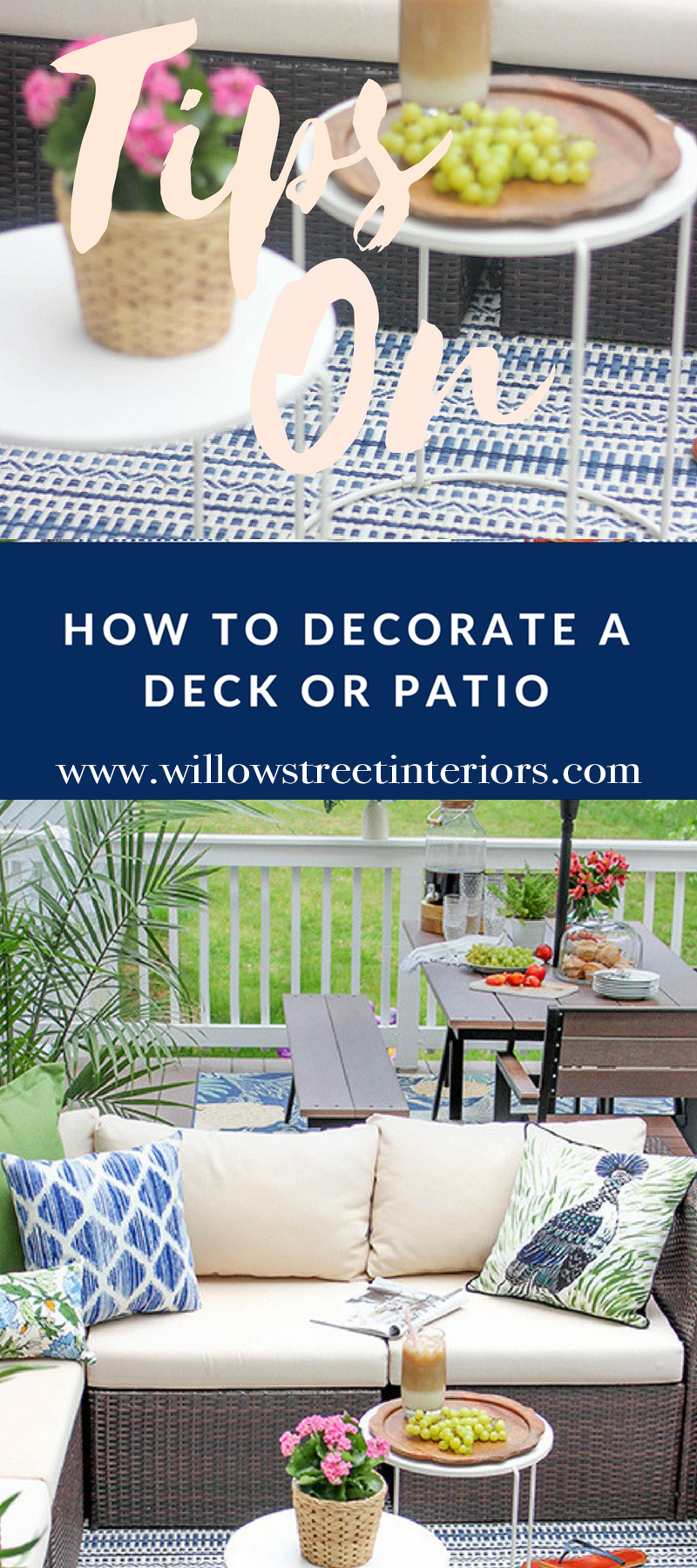 how to decorate a porch or patio