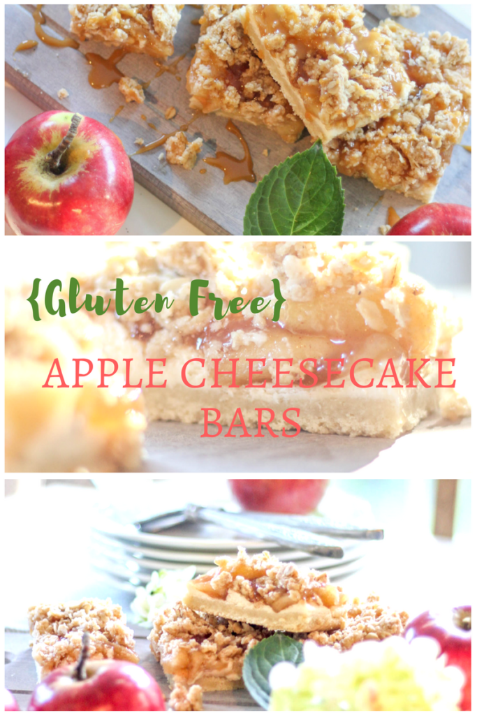 gluten free apple cheesecake bars | willow street interiors