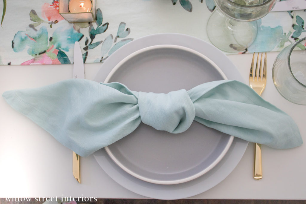 A Spring Tablescape Idea