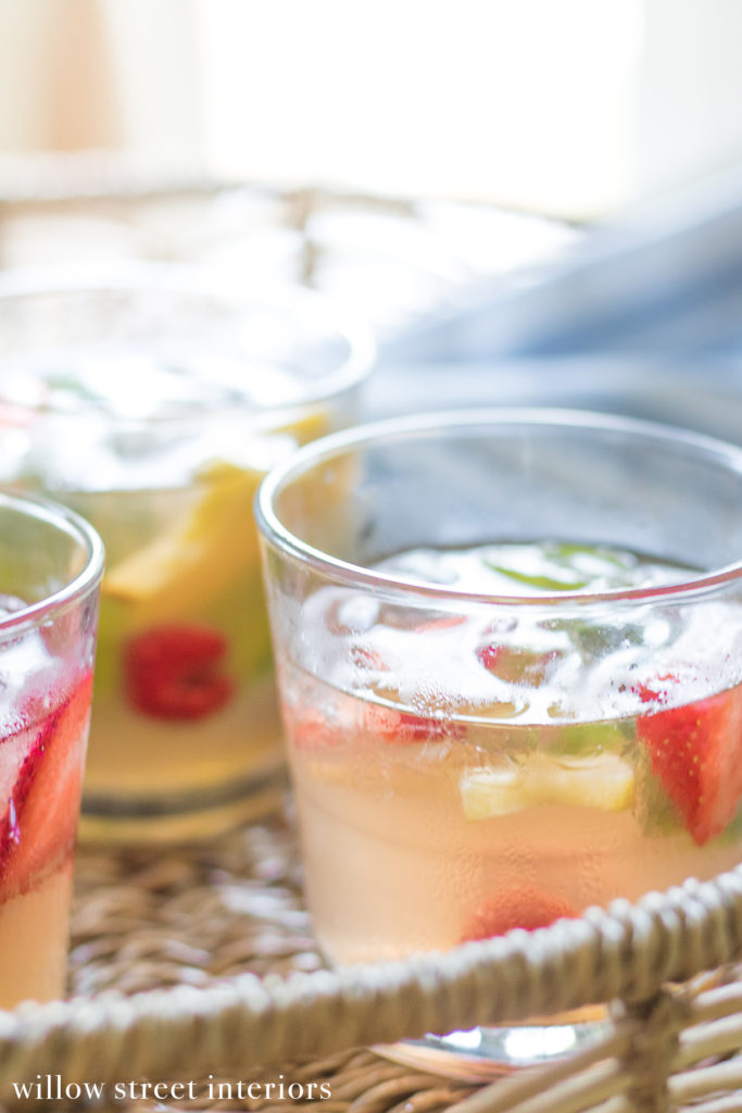 Gingered Sangria Flora Recipe