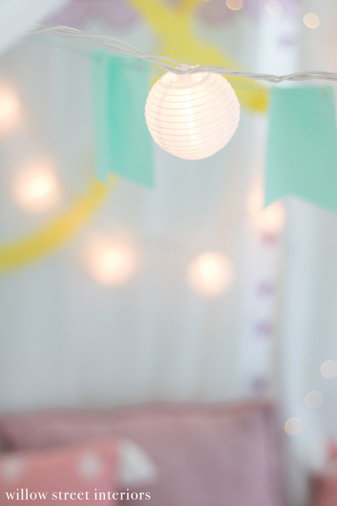 kids bohemian slumber birthday party
