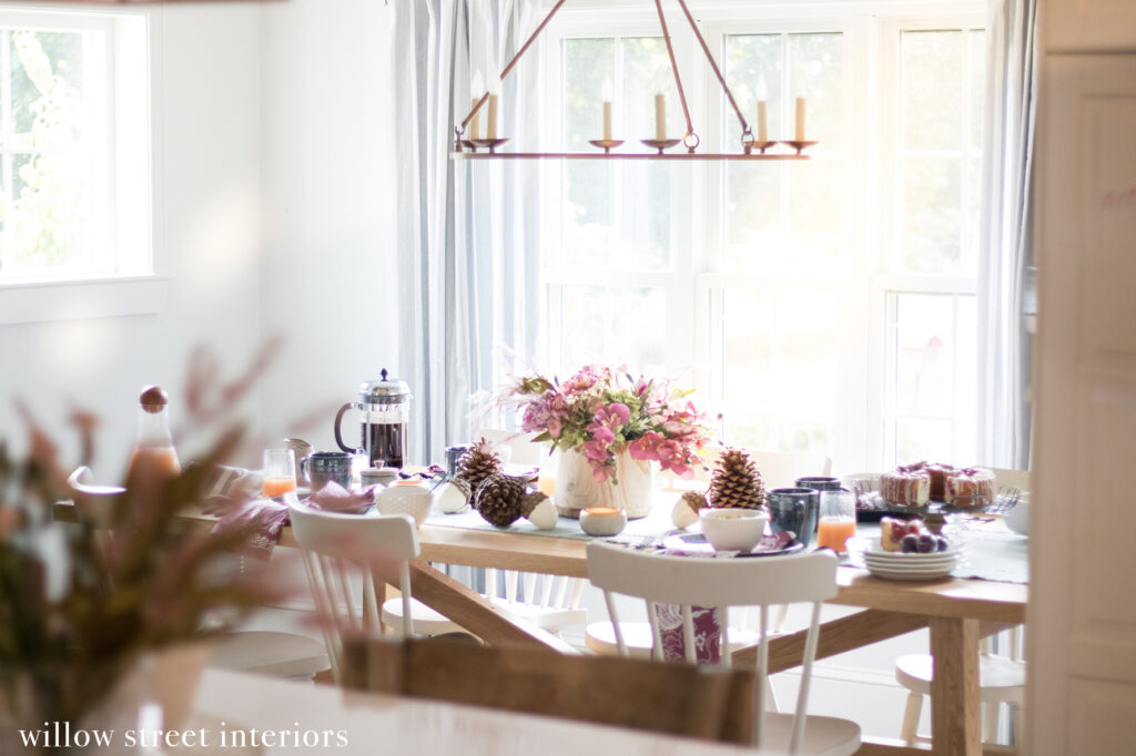 A Fall Brunch Tablescape Idea