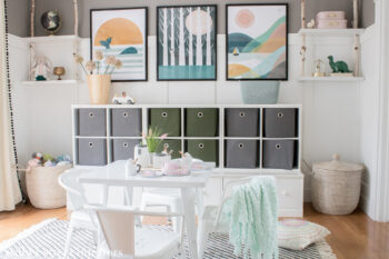 eDesign Redesign Shared Playroom Reveal